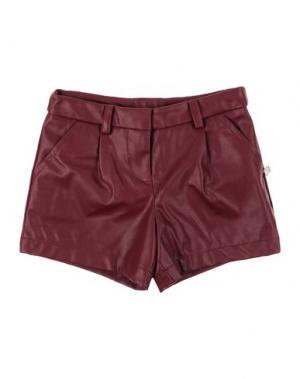 Повседневные шорты L:Ú. Цвет: красно-коричневый