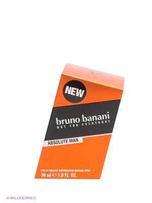 Туалетная вода Bruno Banani Absolute Man, 30 мл. Цвет: прозрачный