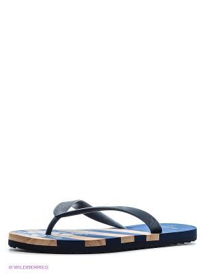 Шлепанцы De Fonseca. Цвет: темно-синий