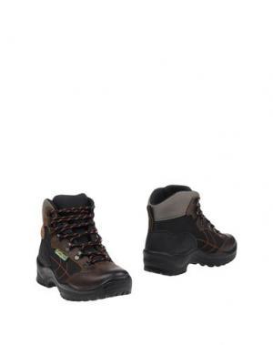 Полусапоги и высокие ботинки GRISPORT. Цвет: черный