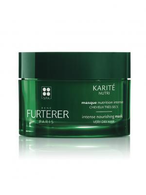 Karite Nutri Интенсивно питающая маска для очень сухих волос 200 мл Rene Furterer. Цвет: прозрачный