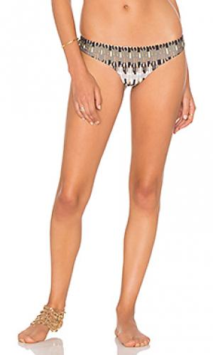 Плавки хипстеры бикини Lenny Niemeyer. Цвет: серый