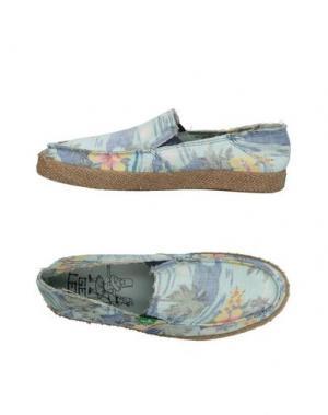 Низкие кеды и кроссовки SANUK. Цвет: небесно-голубой