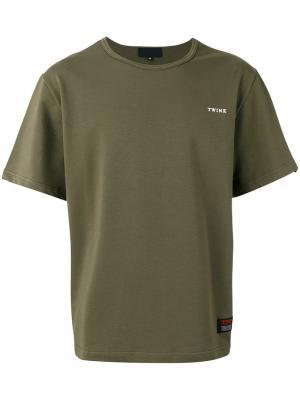 Loose-fit T-shirt Xander Zhou. Цвет: зелёный