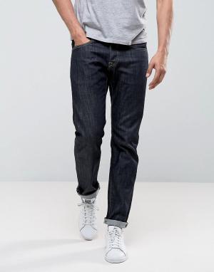 Edwin Темные зауженные джинсы ED-55 Regular. Цвет: синий
