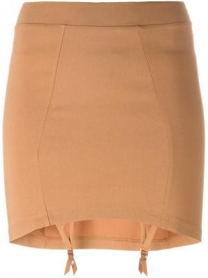Was Pie skirt Murmur. Цвет: коричневый