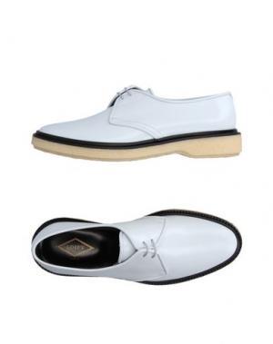 Обувь на шнурках ADIEU. Цвет: белый