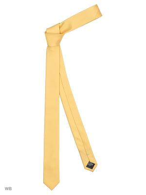 Галстук мужской MILLIONAIRE. Цвет: желтый