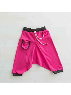 Брюки Bambinizon. Цвет: розовый