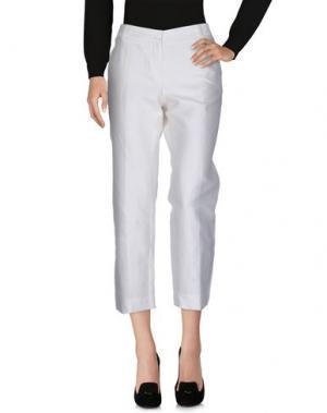 Повседневные брюки KITON. Цвет: белый