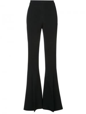 Расклешенные брюки с завышенной талией Cushnie Et Ochs. Цвет: чёрный