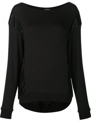 Blade sweatshirt Michi. Цвет: чёрный
