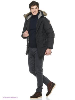 Пуховая куртка Catbalou. Цвет: черный