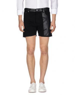 Джинсовые шорты McQ Alexander McQueen. Цвет: черный