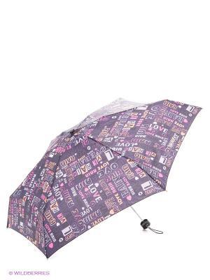 Зонт Isotoner. Цвет: серый