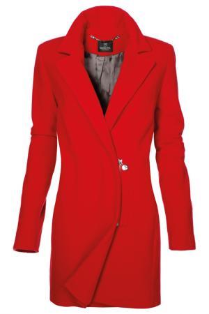 Пальто Madeleine. Цвет: красный