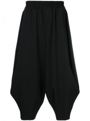 Укороченные брюки-шаровары Comme Des Garçons Homme Plus. Цвет: синий