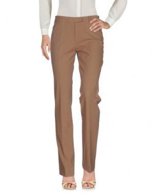 Повседневные брюки GUNEX. Цвет: верблюжий
