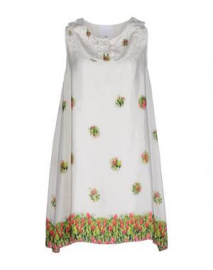 Короткое платье PRINCESSE METROPOLITAINE. Цвет: слоновая кость