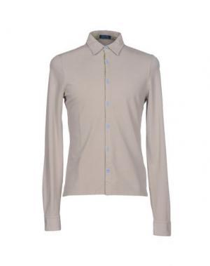 Pубашка DIMATTIA. Цвет: бежевый