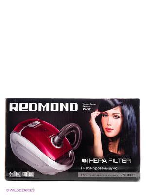 Пылесос Redmond RV-327, красный. Цвет: красный