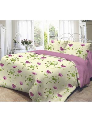 Комплект постельного белья,  Весна Волшебная ночь. Цвет: желтый