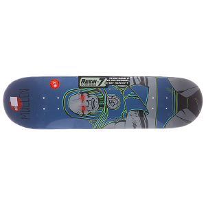 Дека для скейтборда  S5 Mullen Darkseid R7 31.8 x 8.1 (20.6 см) Almost. Цвет: мультиколор,синий