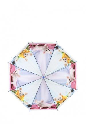 Зонт складной Modis. Цвет: фиолетовый