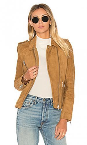 Байкерская куртка с нагрудным карманом DOMA. Цвет: цвет загара