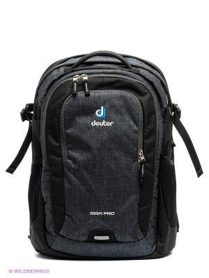Рюкзак Giga Pro Deuter. Цвет: темно-серый, черный