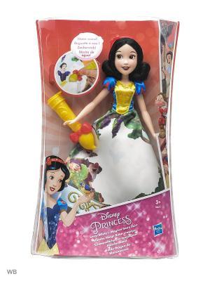 Модная кукла Принцесса в юбке с проявляющимся принтом ассорт. Disney Princess. Цвет: синий, желтый