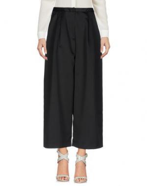 Повседневные брюки EDIT. Цвет: черный