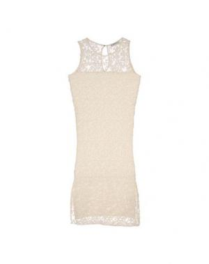 Платье длиной 3/4 ALPHA STUDIO. Цвет: слоновая кость