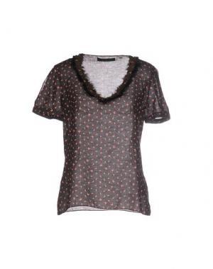 Блузка KRISTINA TI. Цвет: черный
