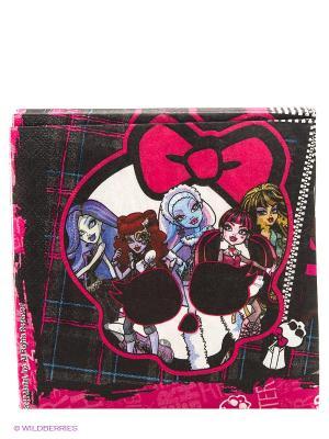 Салфетки  Страшно красивые, 20 шт. Mattel. Цвет: черный, розовый, белый