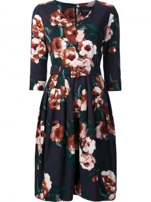 Платье Layne Samantha Sung. Цвет: синий