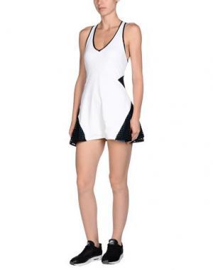 Короткое платье MICHI. Цвет: белый