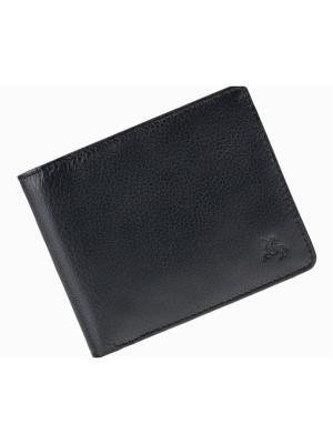 Бумажник Jack Visconti. Цвет: черный