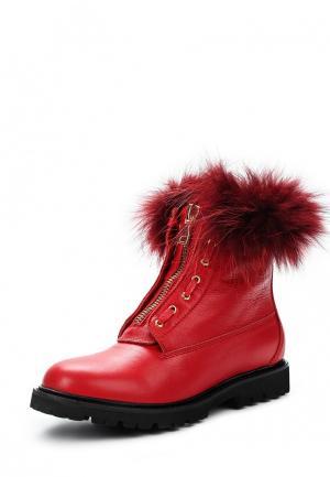 Ботинки Mallanee. Цвет: красный