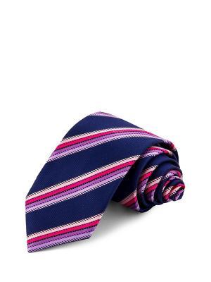 Галстуки GREG. Цвет: синий, розовый, сиреневый