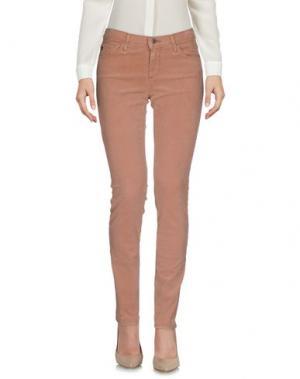 Повседневные брюки AG ADRIANO GOLDSCHMIED. Цвет: светло-коричневый