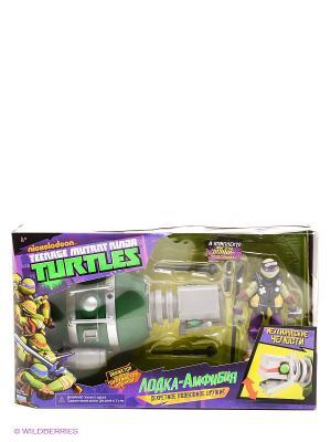 Лодка-амфибия Черепашки Ниндзя Playmates toys. Цвет: зеленый