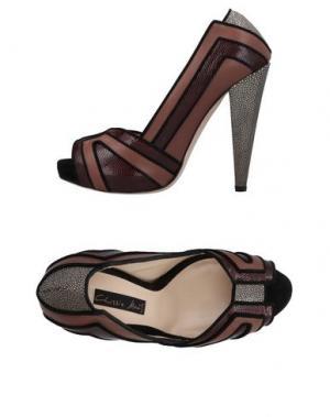 Туфли CHRISSIE MORRIS. Цвет: красно-коричневый