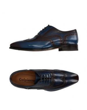 Обувь на шнурках CALPIERRE. Цвет: синий