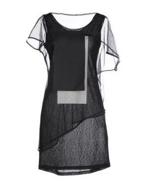 Короткое платье DEMOO PARKCHOONMOO. Цвет: черный