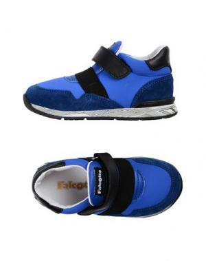 Низкие кеды и кроссовки FALCOTTO. Цвет: синий