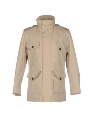 Куртка AQUASCUTUM. Цвет: песочный