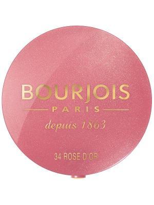 Румяна Blush 34 тон Bourjois. Цвет: розовый