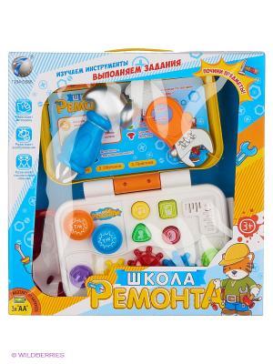 Набор инструментов VELD-CO. Цвет: белый, синий, оранжевый, желтый