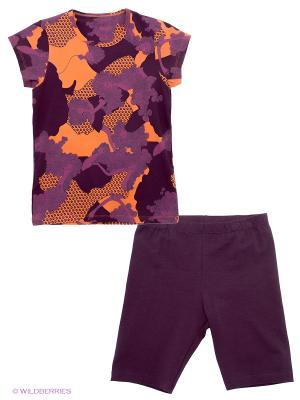 Комплект Lowry. Цвет: темно-фиолетовый, оранжевый